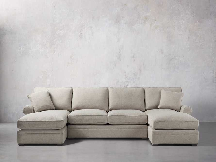 Landsbury Double Chaise Sectional | Arhaus Furniture