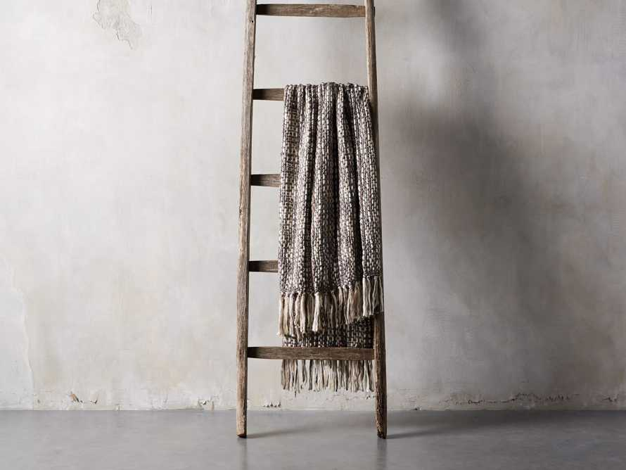 Chunky Knit Charcoal Throw