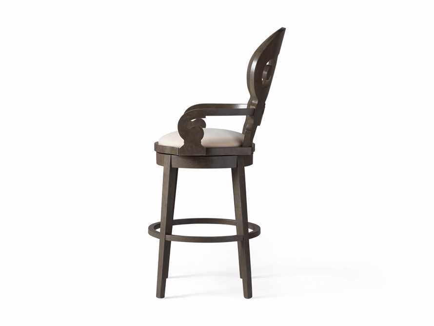 "Jordan 24"" Barstool with Upholstered Seat, slide 9 of 9"