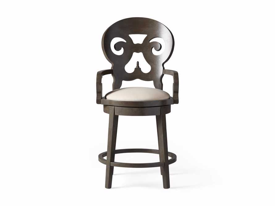 """Jordan 24"""" Counter Stool with Upholstered Seat, slide 8 of 9"""