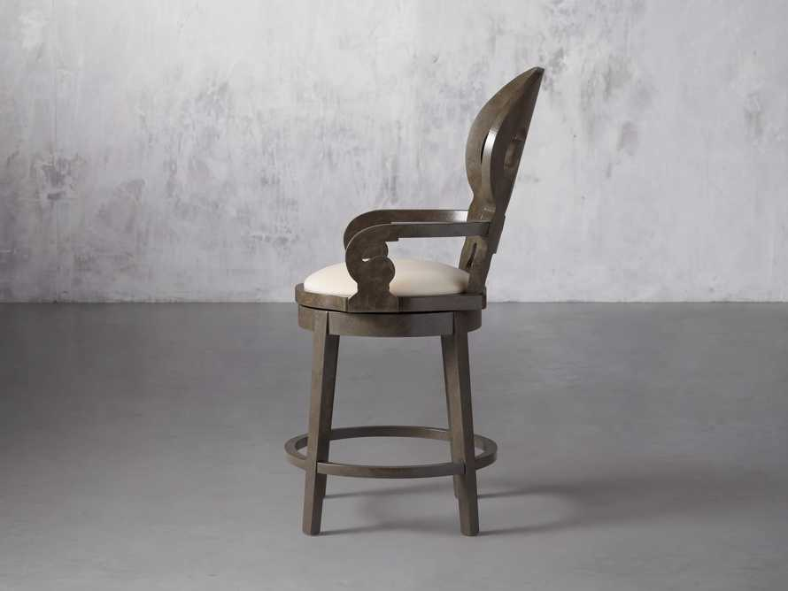 """Jordan 24"""" Counter Stool with Upholstered Seat, slide 5 of 9"""