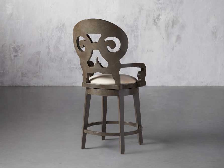 """Jordan 24"""" Counter Stool with Upholstered Seat, slide 6 of 9"""