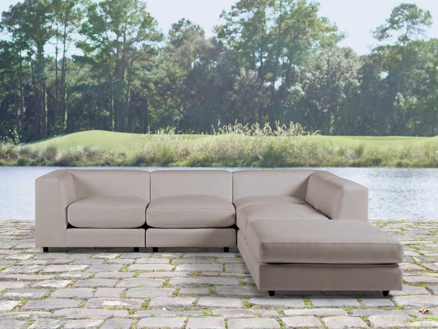 Menlo Outdoor 5 Piece Sectional