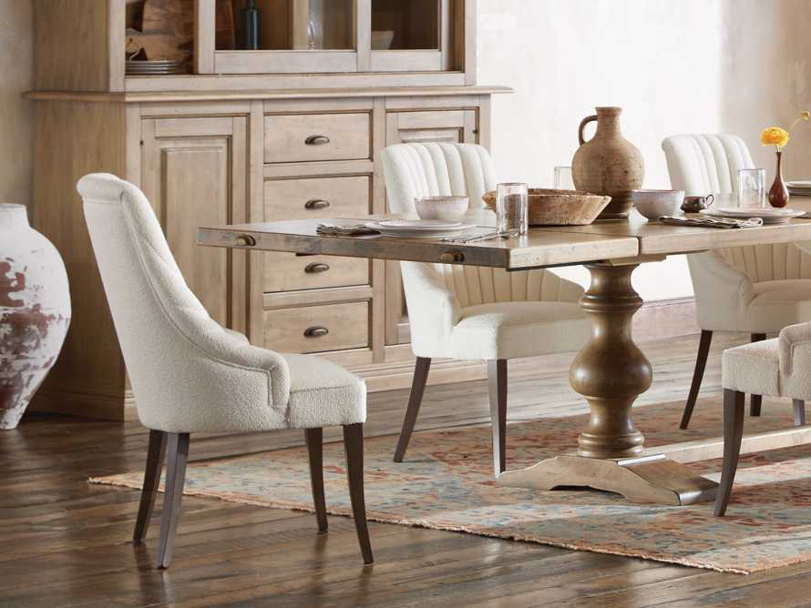 Elisa Dining Chair in Grizzly Cream, slide 2 of 9