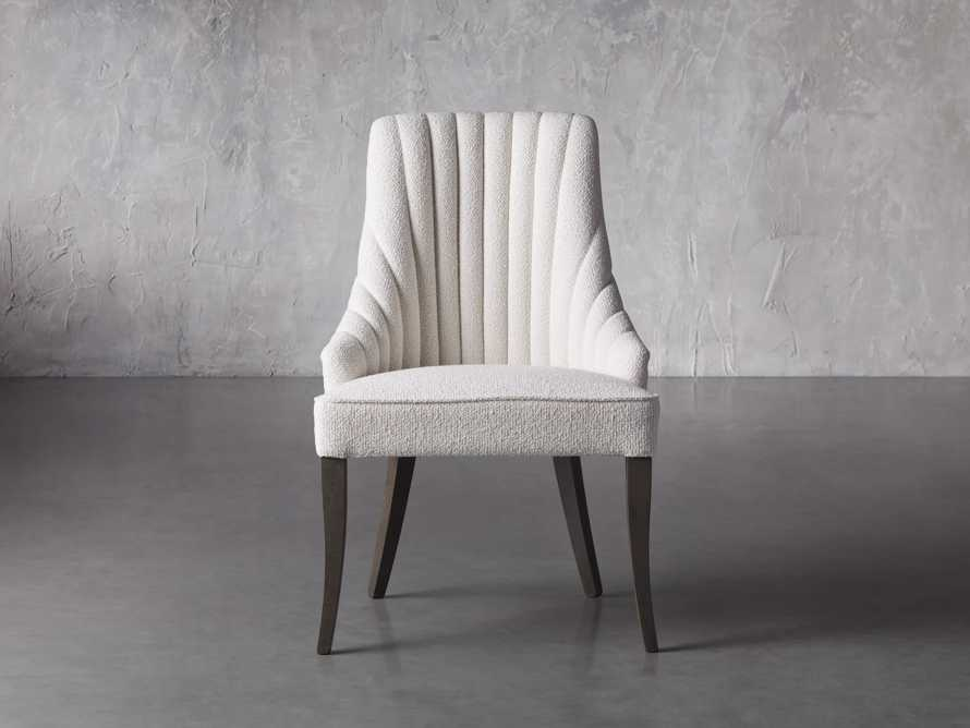 Elisa Dining Chair in Grizzly Cream, slide 2 of 8