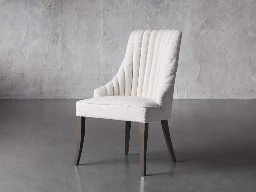 Elisa Dining Chair in Grizzly Cream, slide 3 of 8