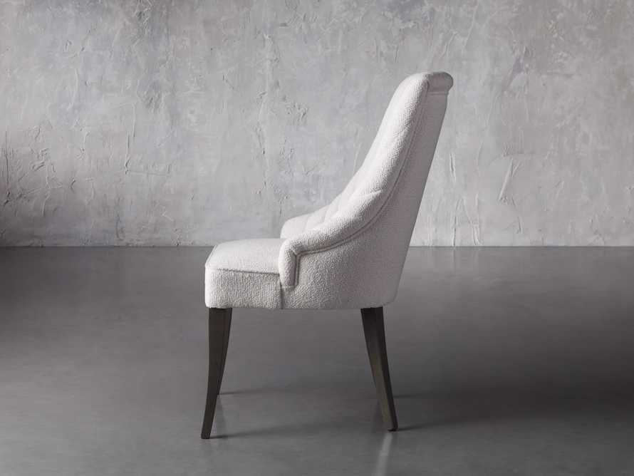 Elisa Dining Chair in Grizzly Cream, slide 4 of 8