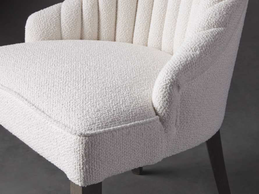 Elisa Dining Chair in Grizzly Cream, slide 6 of 8