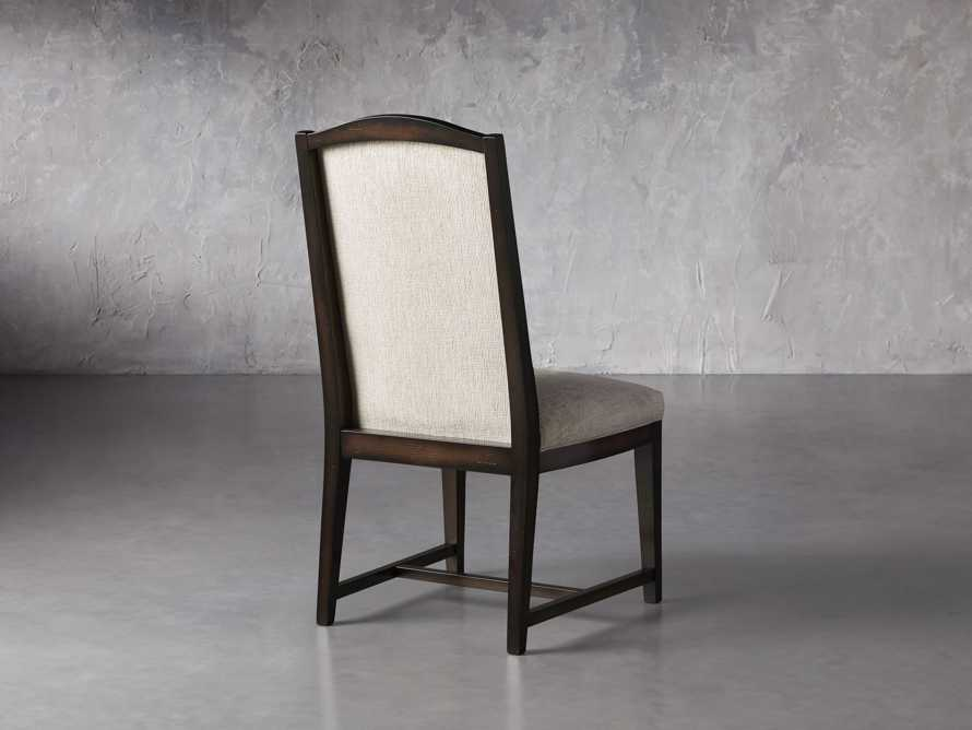 Isabella  Dining Side Chair in Taupe and Noceto, slide 5 of 8