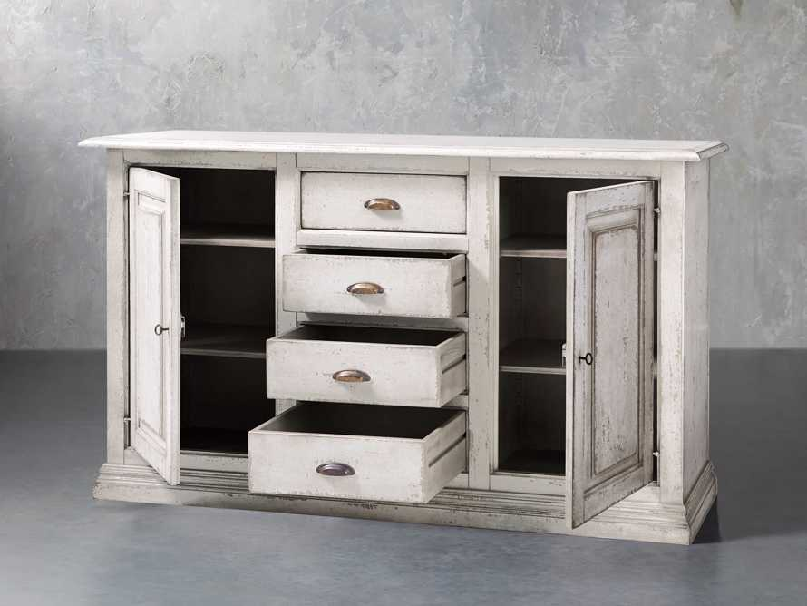 "Arturo 74"" Bell'Arte Buffet in Bianco, slide 4 of 7"