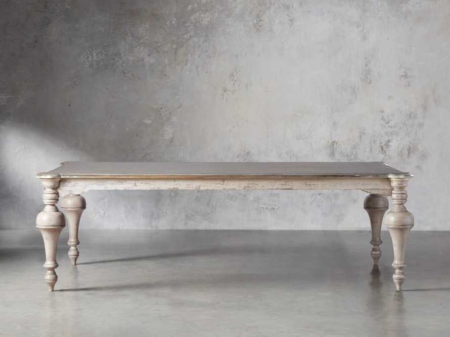 "Alessia 98"" Solid Bell'Arte Dining Table, slide 3 of 10"