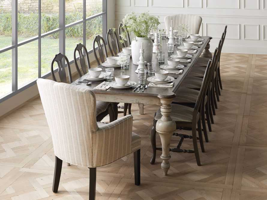 "Alessia 98"" Solid Bell'Arte Dining Table, slide 1 of 10"