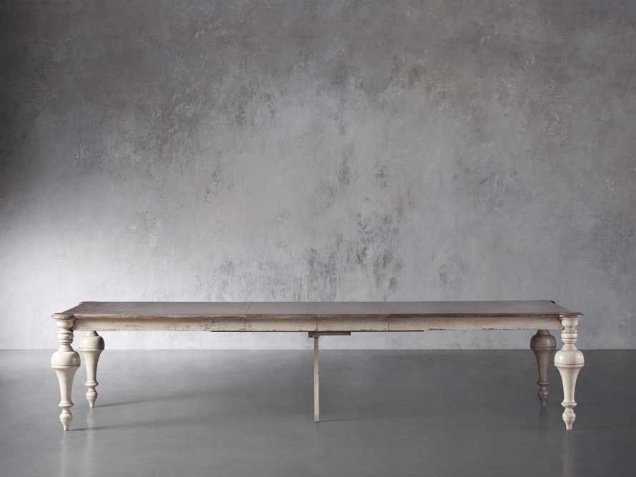"""Alessia 101.5"""" Extension Dining Table, slide 3 of 8"""