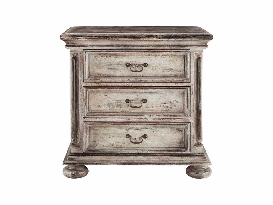 """Celeste 19"""" Three Drawer Bedside Table"""
