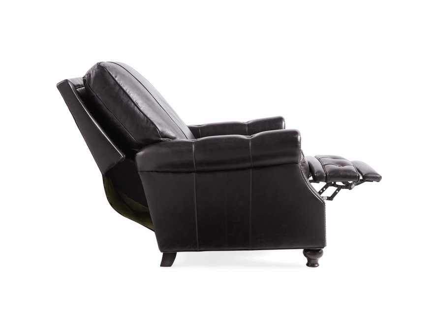 "Revere 34"" Leather Recliner"
