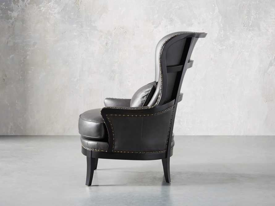 "Portsmouth Leather 32"" Chair, slide 5 of 12"