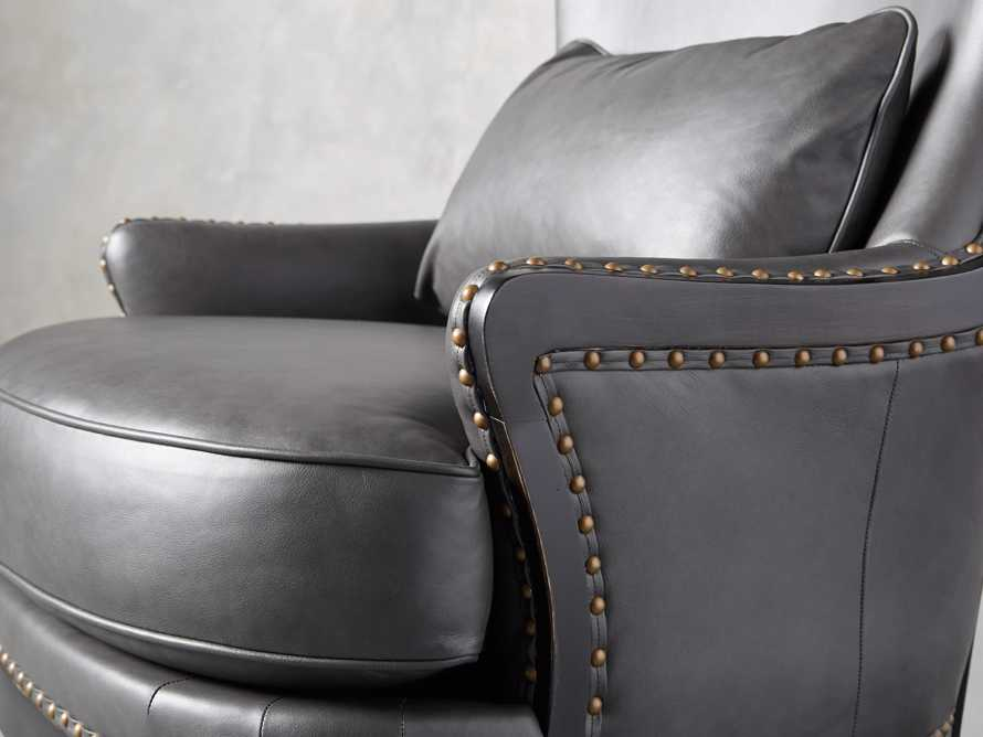 "Portsmouth Leather 32"" Chair, slide 7 of 12"