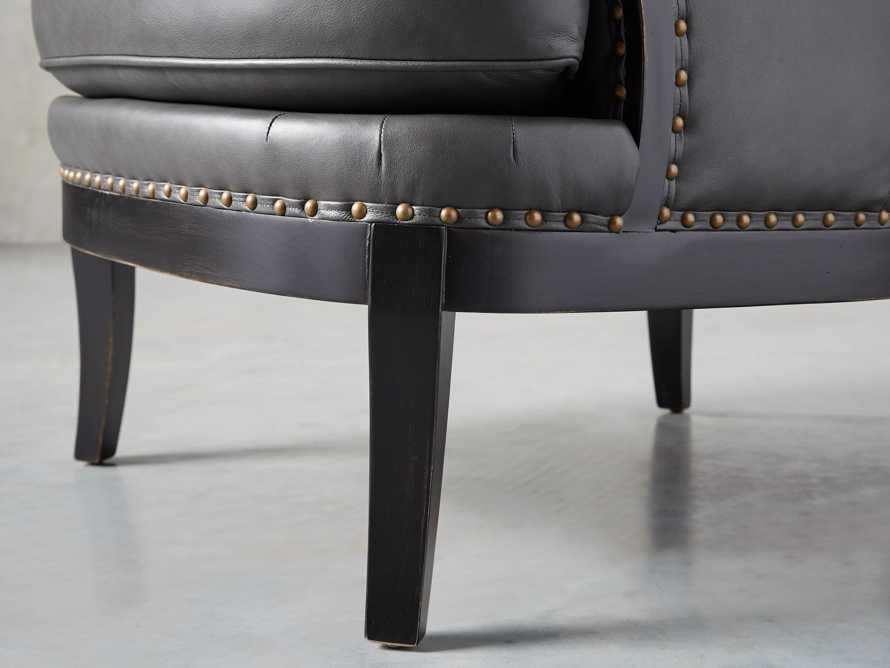 "Portsmouth Leather 32"" Chair, slide 8 of 12"