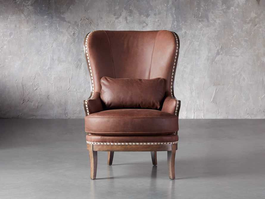 """Portsmouth Leather 32"""" Chair, slide 1 of 7"""