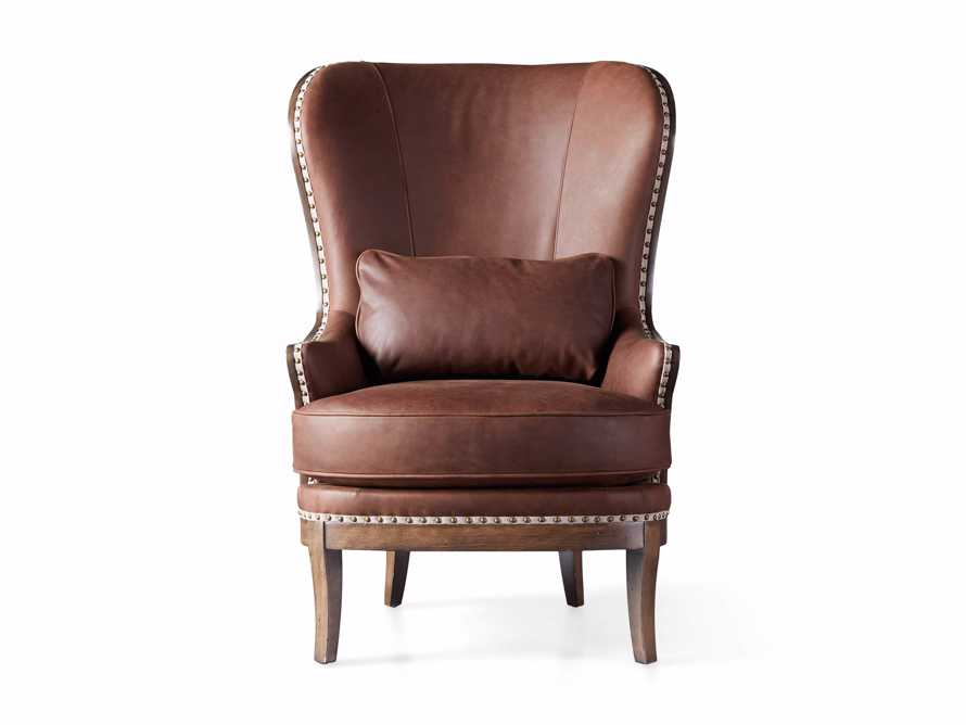 """Portsmouth Leather 32"""" Chair, slide 6 of 7"""