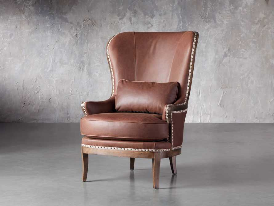 """Portsmouth Leather 32"""" Chair, slide 2 of 7"""