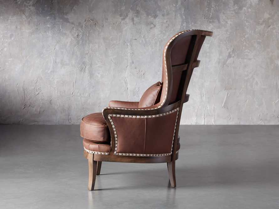 """Portsmouth Leather 32"""" Chair, slide 3 of 7"""