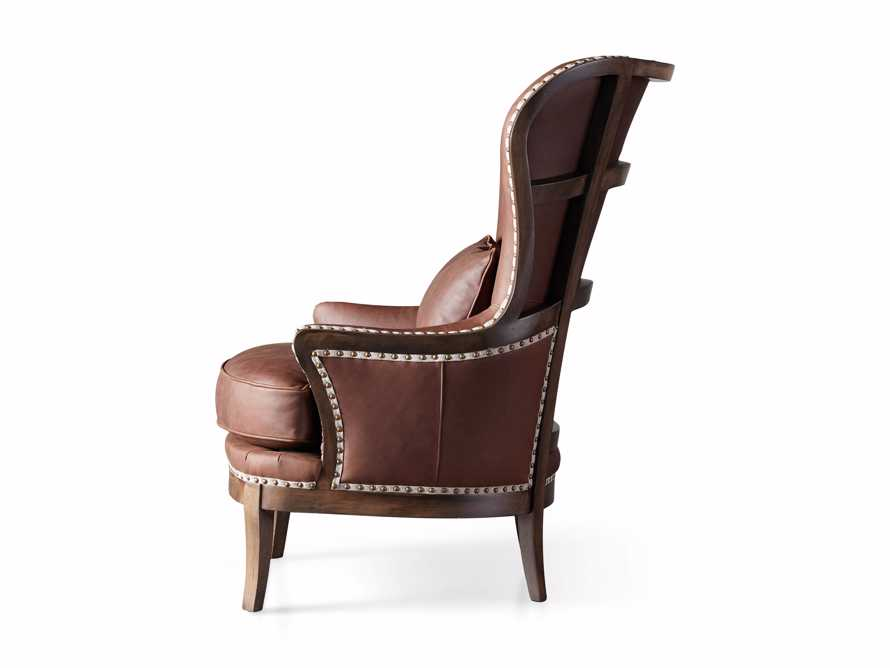 """Portsmouth Leather 32"""" Chair, slide 7 of 7"""