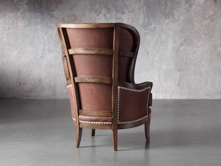 """Portsmouth Leather 32"""" Chair, slide 4 of 7"""