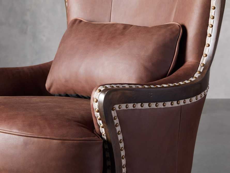 """Portsmouth Leather 32"""" Chair, slide 5 of 7"""