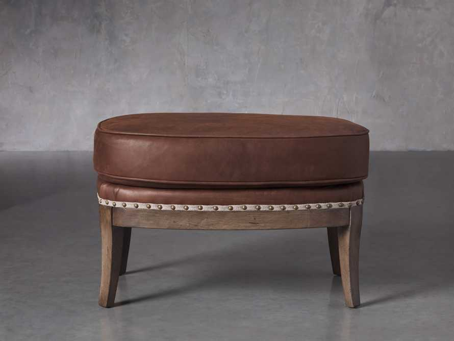 "Portsmouth Leather 29"" Ottoman, slide 1 of 4"