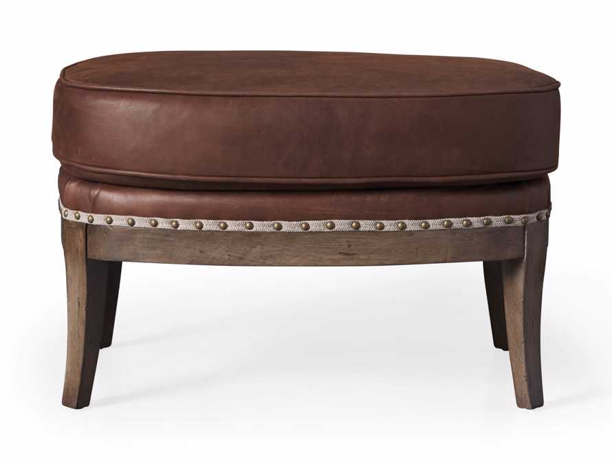 "Portsmouth Leather 29"" Ottoman, slide 4 of 4"