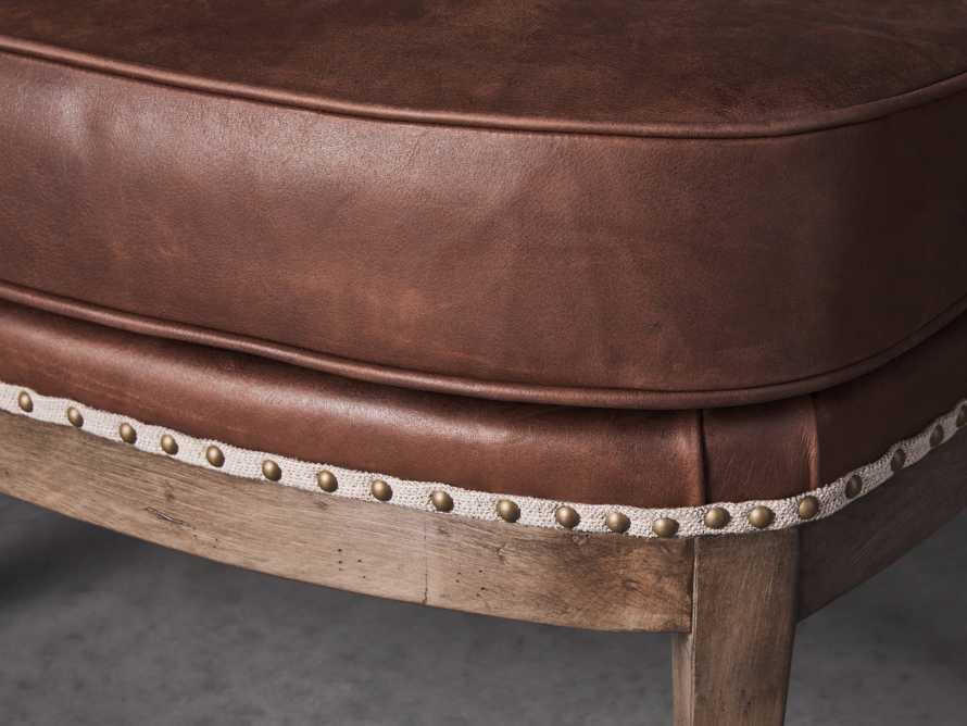 "Portsmouth Leather 29"" Ottoman, slide 3 of 4"