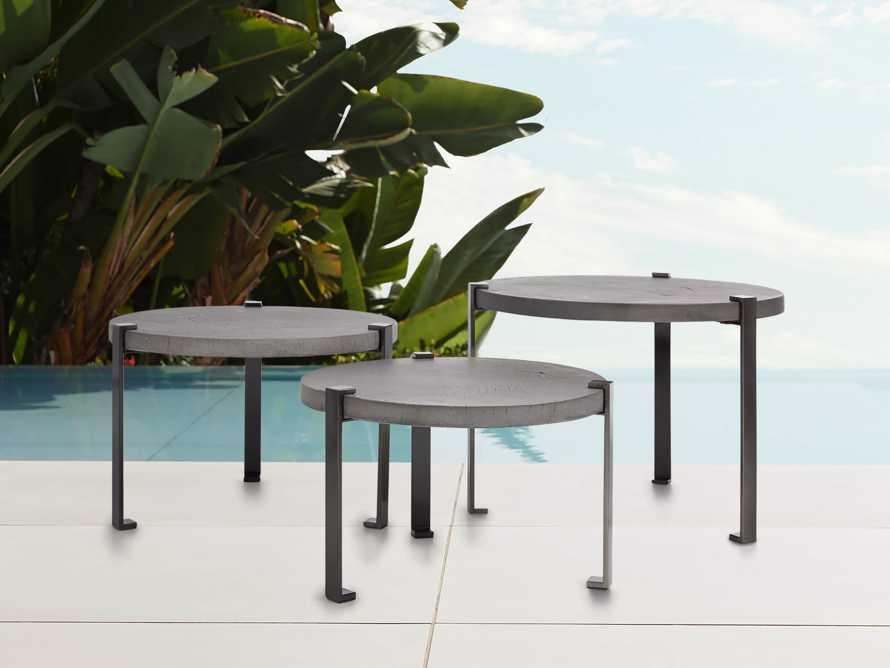 Samara Outdoor Trio Coffee Table