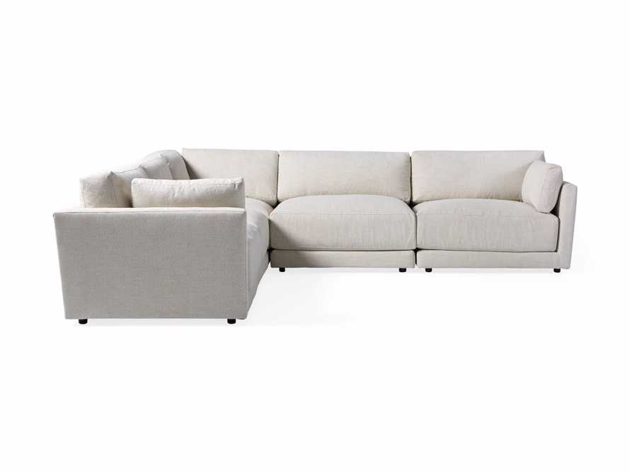 """Sarno Upholstered 124"""" Right Arm Sectional"""