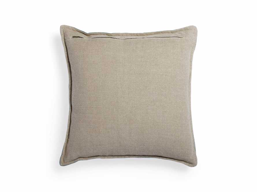 Stone Washed Velvet Square Pillow in Jade, slide 4 of 6