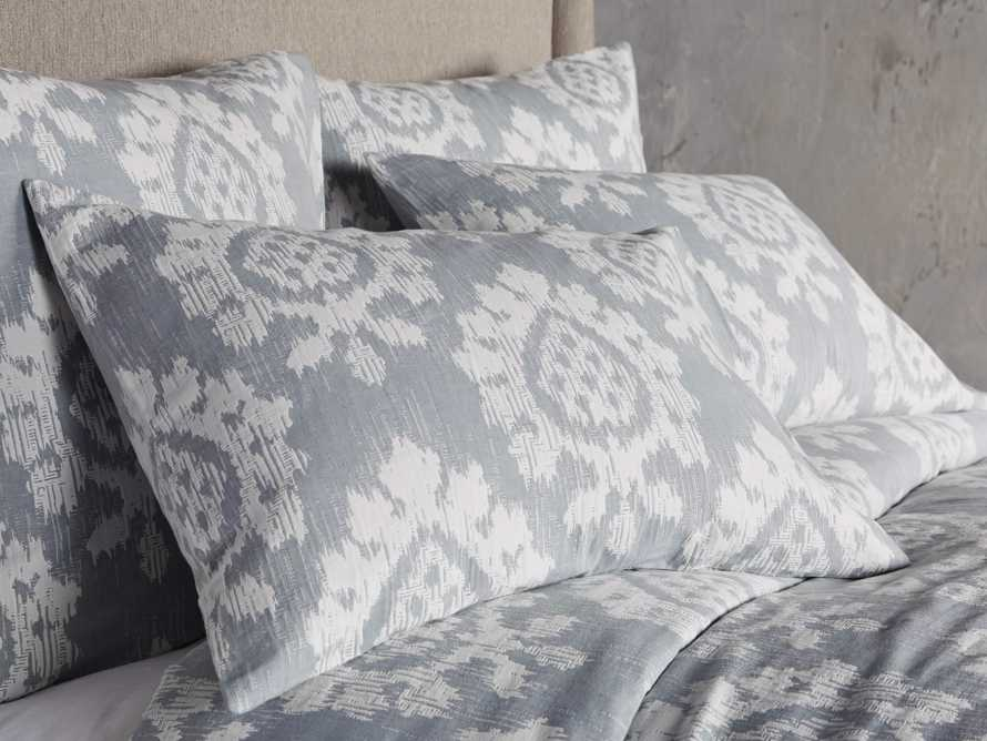 Suzanni Jacquard Queen Duvet Cover, slide 2 of 6