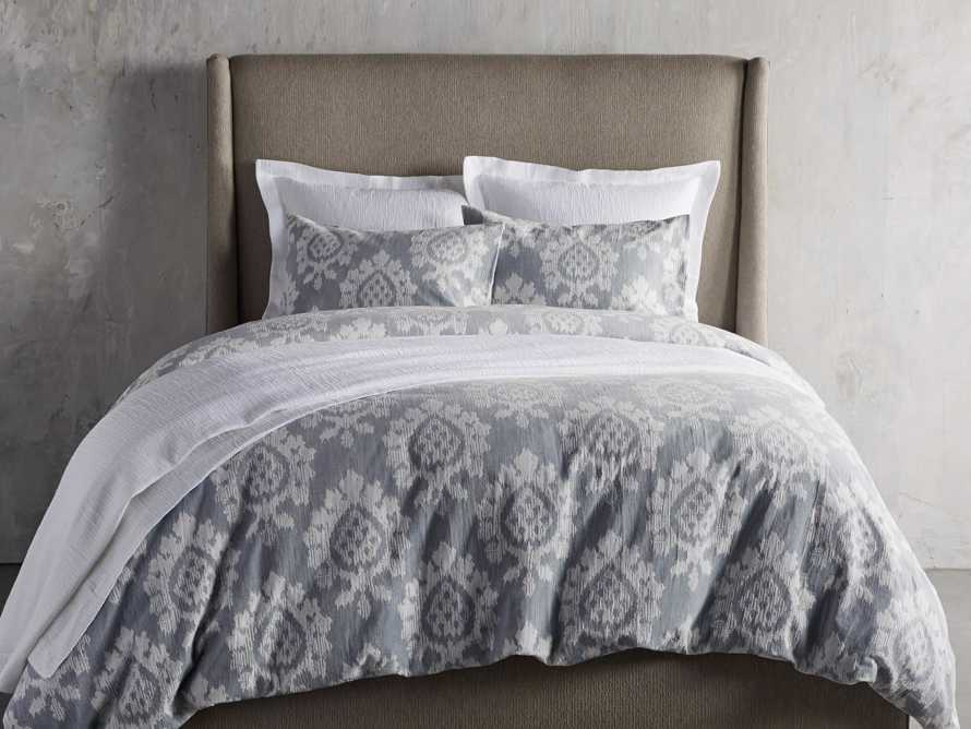 Suzanni Jacquard Queen Duvet Cover, slide 3 of 6
