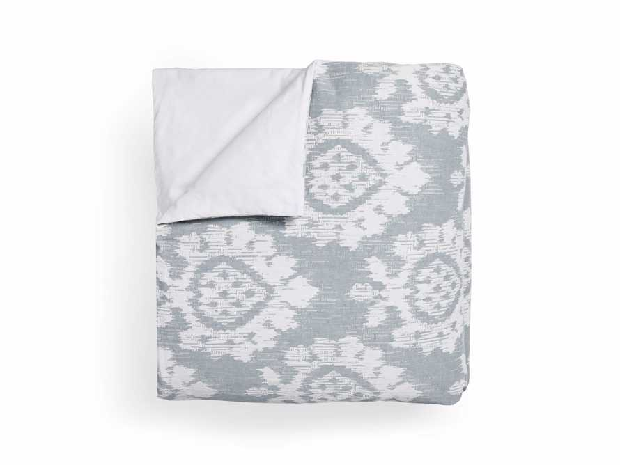 Suzanni Jacquard Queen Duvet Cover, slide 4 of 6