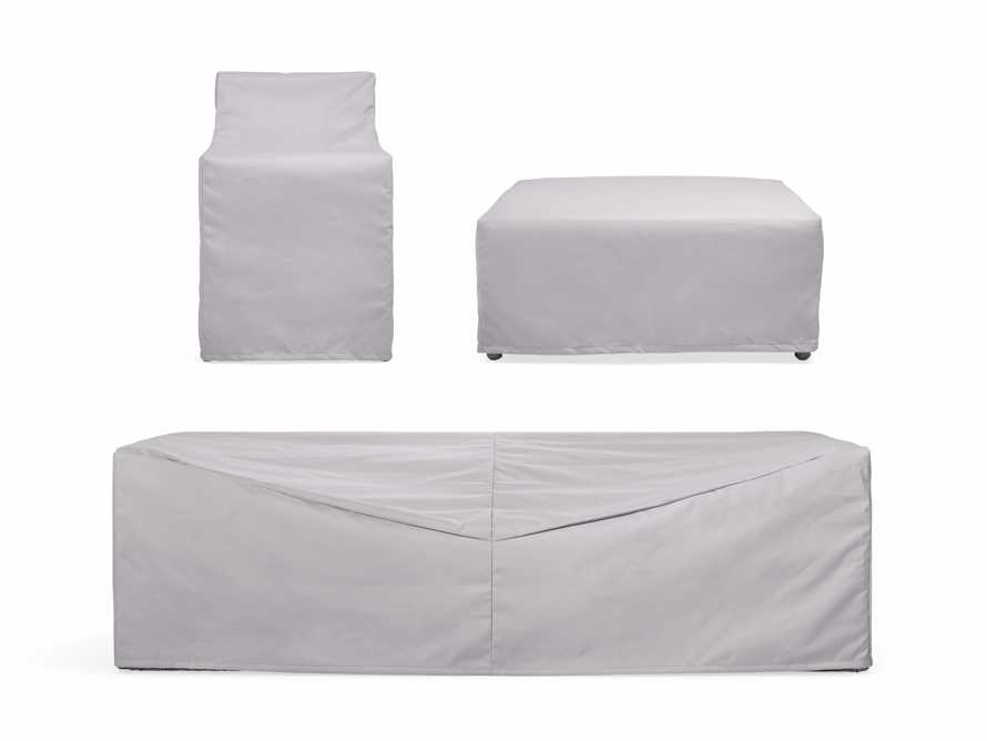 "Menlo Outdoor 50"" Double Chaise Cover, slide 1 of 2"
