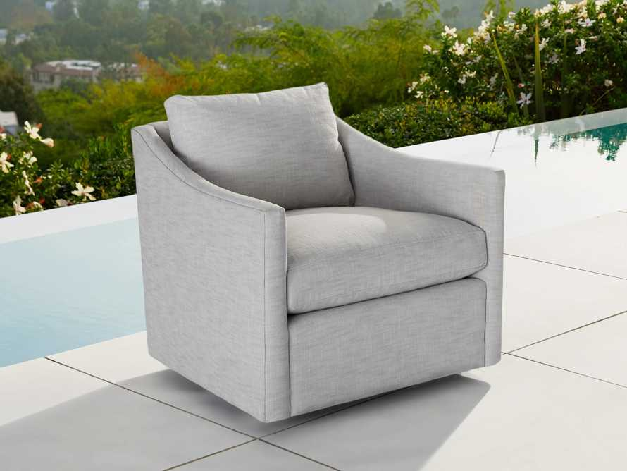"Branson Outdoor 31"" Swivel  Chair Cover, slide 3 of 3"