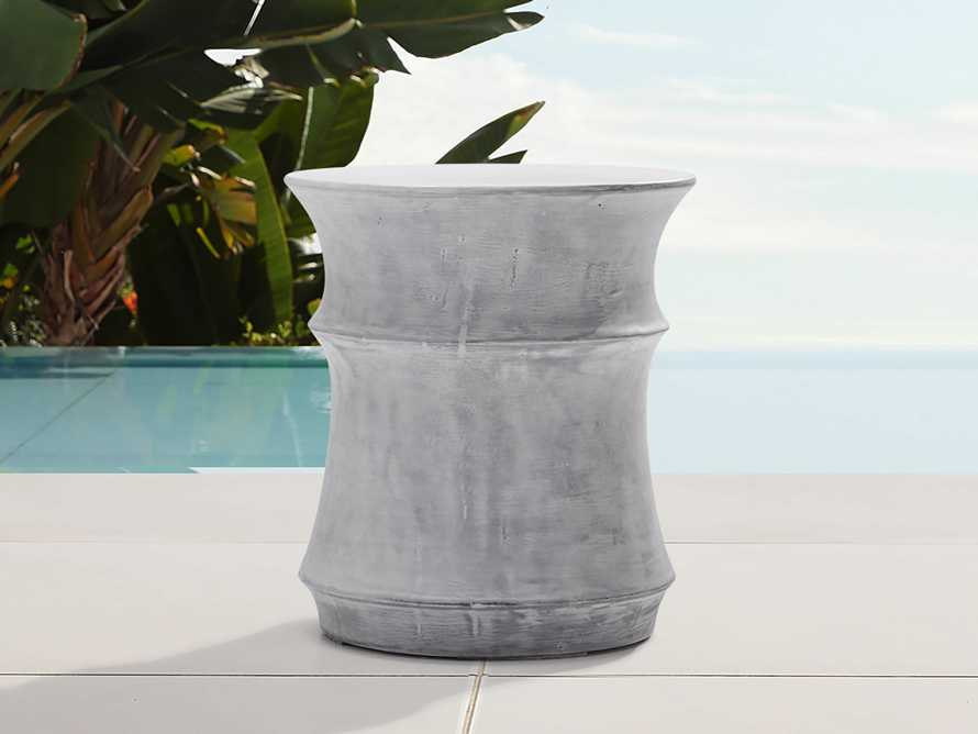"Concrete Outdoor 14.5"" End Table Cover, slide 3 of 4"