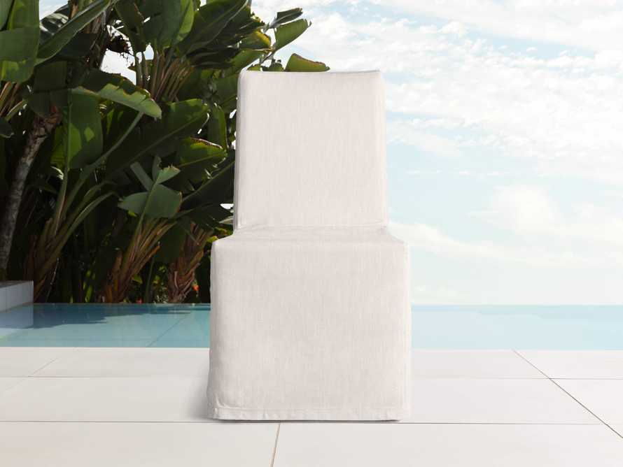 """Devon Outdoor 20"""" Dining Side Chair Cover, slide 3 of 3"""