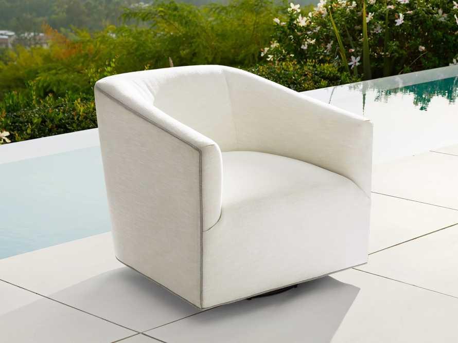 "Ellison Outdoor 31"" Swivel Chair Cover, slide 3 of 3"