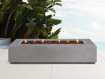 """Fire Tables Outdoor 53"""" Rectangle Concrete Fire Table Cover"""