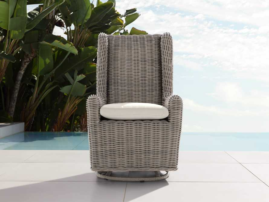"Huntington Outdoor 27"" Swivel Chair Cover, slide 3 of 3"