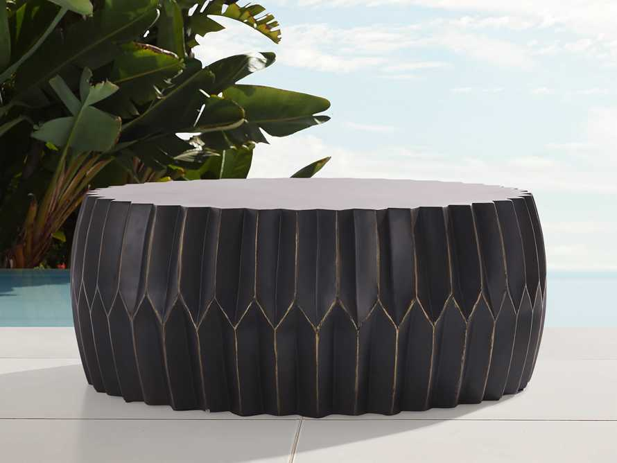 """Indio Outdoor 41"""" Round Coffee Table Cover, slide 3 of 4"""