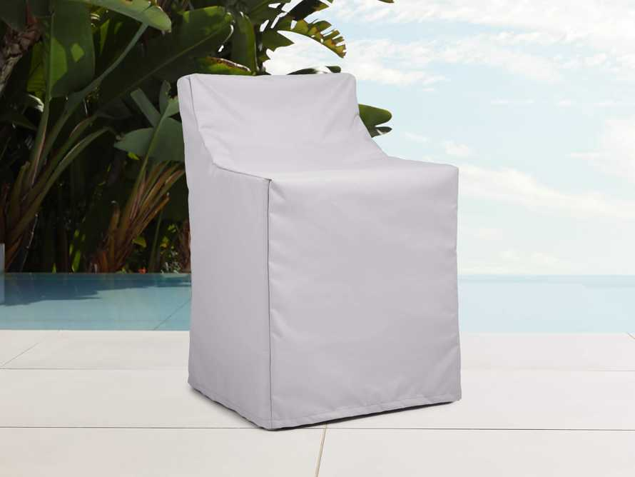 "Melbourne Outdoor 25"" Swivel Dining Chair Cover, slide 2 of 4"