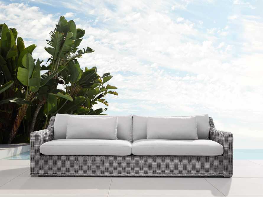 "Montauk Outdoor 107"" Sofa Cover, slide 3 of 4"