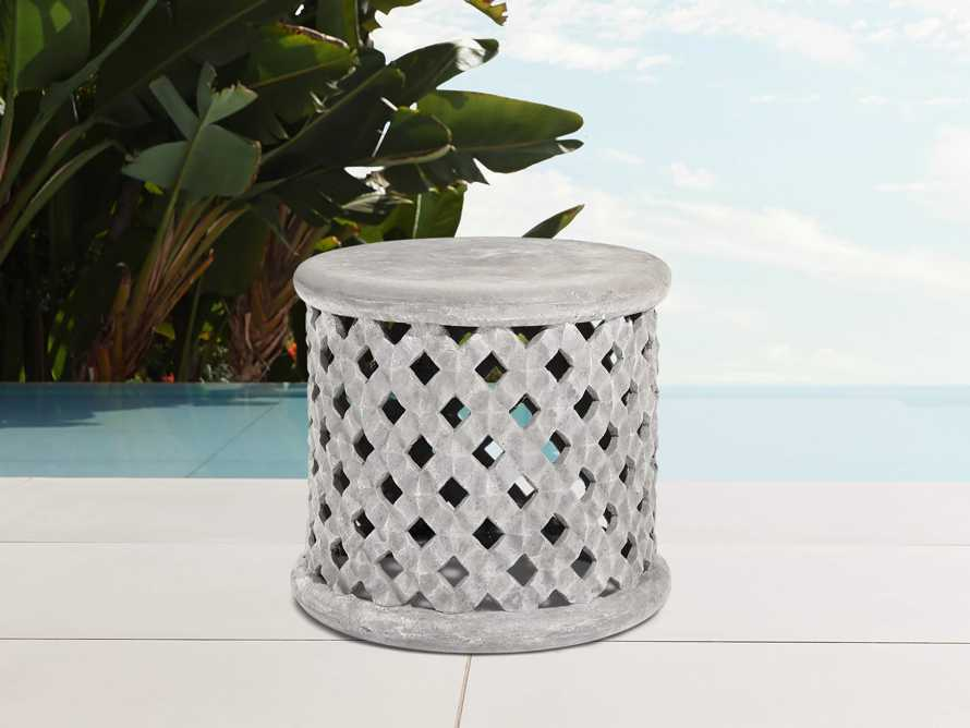 "Naples Outdoor 22"" End Table Cover, slide 3 of 3"
