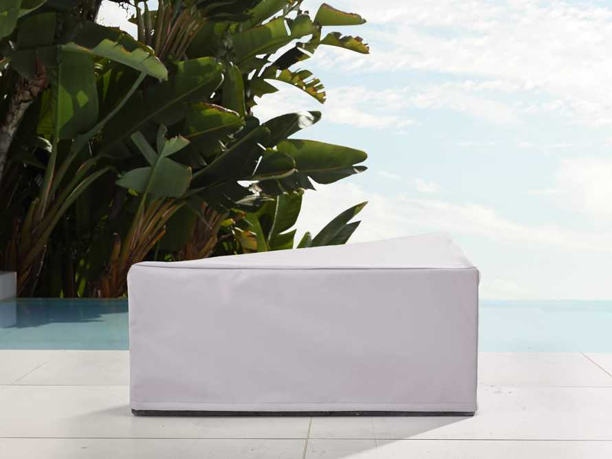 "Pacifica Outdoor 35"" Triangle Coffee Table Cover"